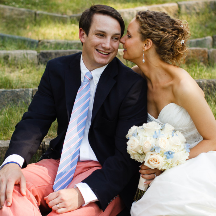 Kimmery and Mac tie the knot in Darien