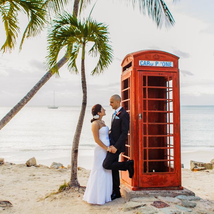 Carl and Lauren - Destination wedding photography - Antigua