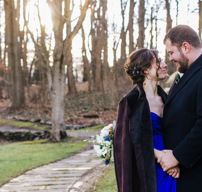 Amy and Aaron's Hudson Valley Wedding at Buttermilk Falls Inn