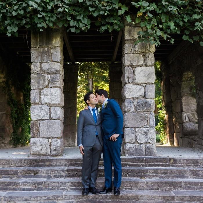 Berkshires Wedding at The Mount - Zach and David